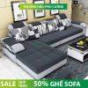 Tư vấn chọn mua sofa phòng khách đẹp hiện đại chất liệu nỉ