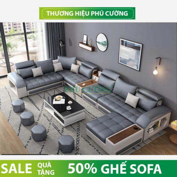 Chia sẻ bí quyết mua sofa hiện đại đơn giản chất liệu nỉ 1