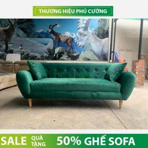 Sofa vải An Giang chất liệu nhung và những điều nên biết 3