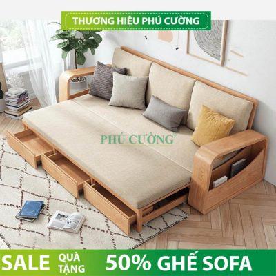 Tư vấn chọn mua sofa gỗ tự nhiên hiện đại thêm sang trọng