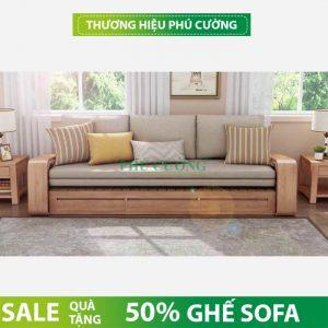 Xu hướng mua sofa gỗ hiện đại chung cư nhỏ hẹp hiện nay 3