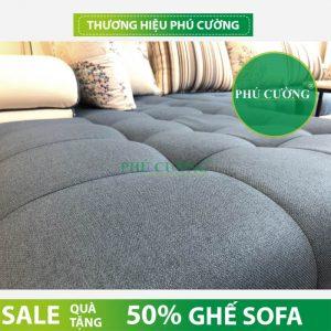 Tổng hợp cách chọn sofa nỉ hiện đại phòng khách cho mọi căn nhà