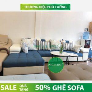 Nên chọn sofa nỉ hay sofa vải bố đẹp giá rẻ cho phòng khách? 1
