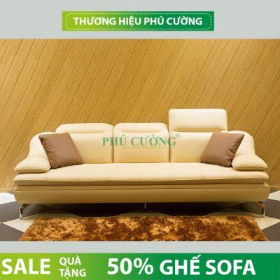 Nhận biết sofa da thật Hàn Quốc hiện đại cho phòng khách gia đình