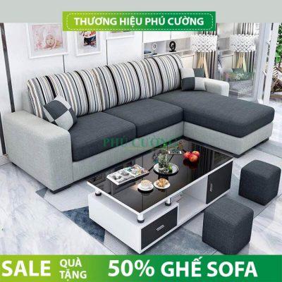3 lưu ý khi chọn sofa chữ L Bến Tre phòng khách chung cư 1