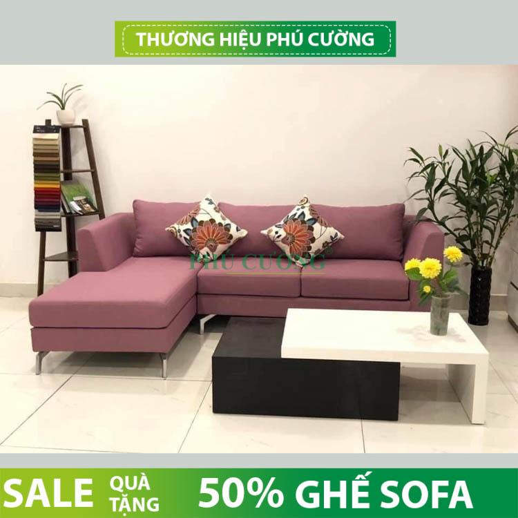 Tư vấn cách chọn sofa nỉ quận Ô Môn phù hợp với phòng khách 2