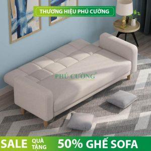 Phòng khách chật vẫn có thể dùng sofa bed nhập khẩu 2