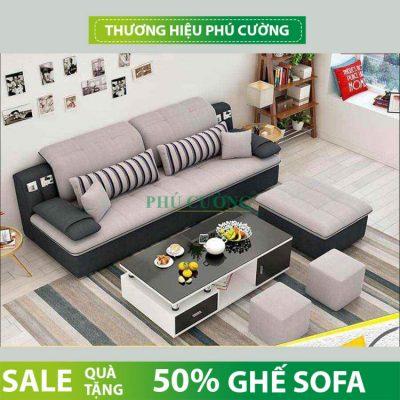 Vì sao nên chọn ghế sofa nỉ Hậu Giang cho phòng khách gia đình mình?