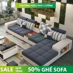 Giá cả các mẫu sofa phòng khách Đồng Tháp tại nội thất Phú Cường 3