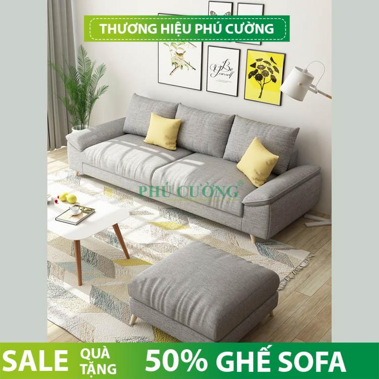 Nên mua sofa đẹp quận Bình Thủy như thế nào cho phòng khách nhỏ? 2