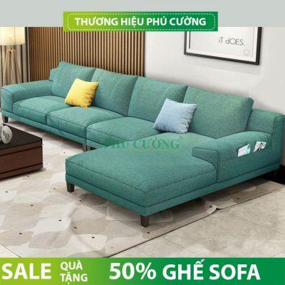 Phương án đặt sofa góc chữ L phòng khách như thế nào đúng cách?