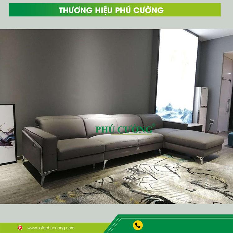 Cách chọn sofa góc vải bố hợp với không gian sống bạn nên chú ý 1