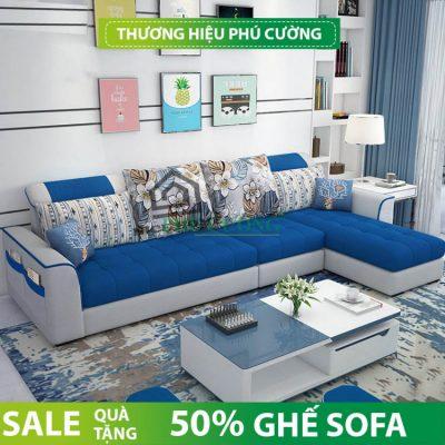 Phương án đặt sofa góc chữ L phòng khách như thế nào đúng cách? 1